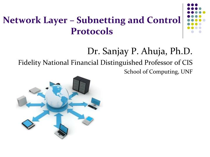Network layer subnetting and control protocols
