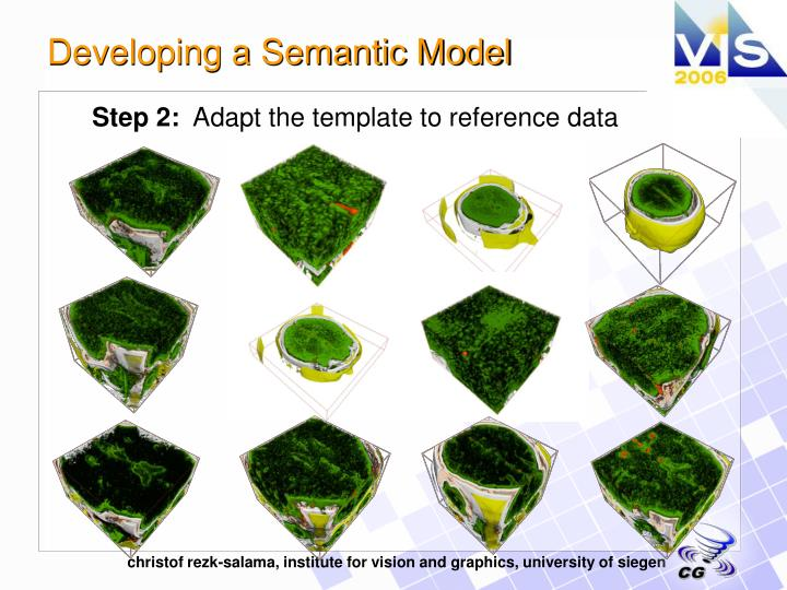 Developing a Semantic Model