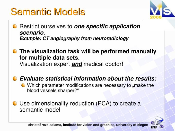 Semantic Models