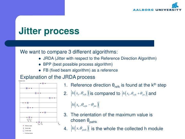 Jitter process