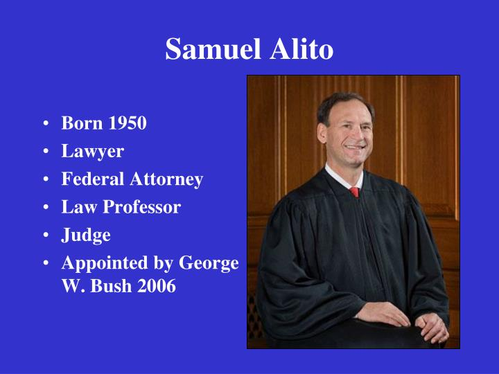 Samuel Alito