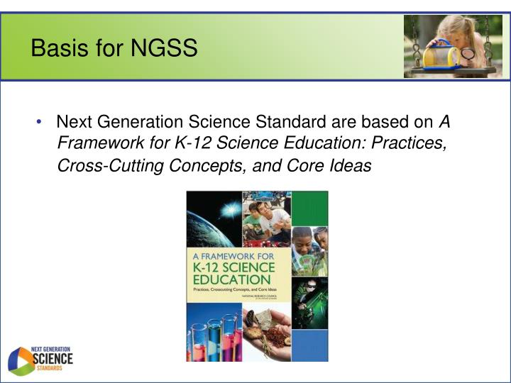 Basis for NGSS