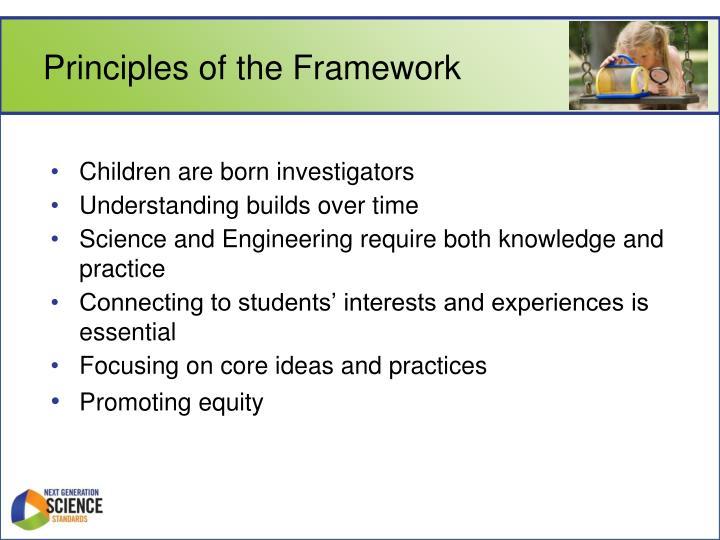 Principles of the Framework