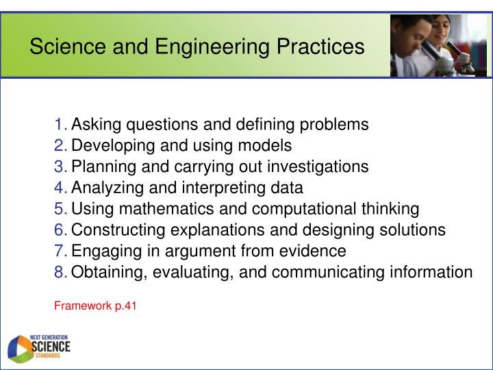 Science and Engineering Practices