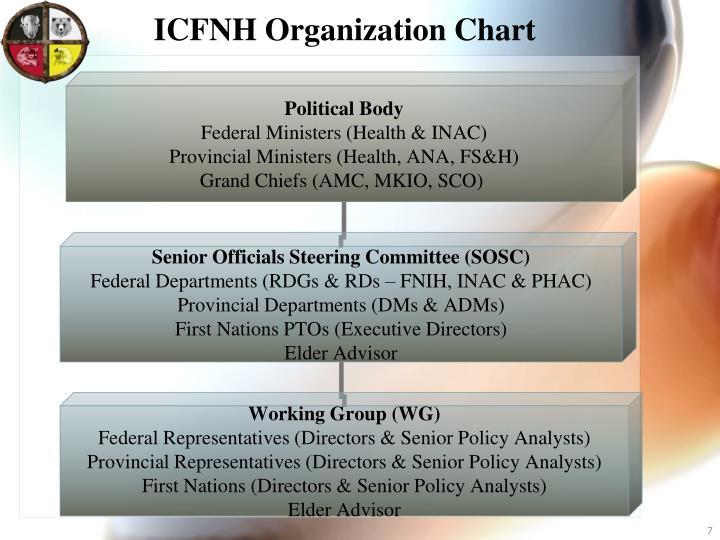 ICFNH Organization Chart