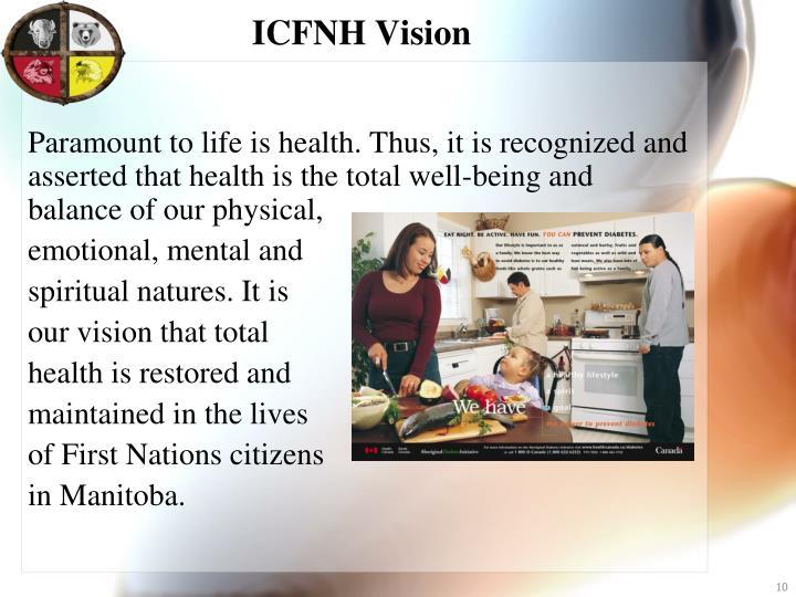 ICFNH Vision