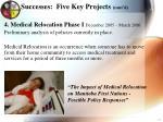 successes five key projects cont d2