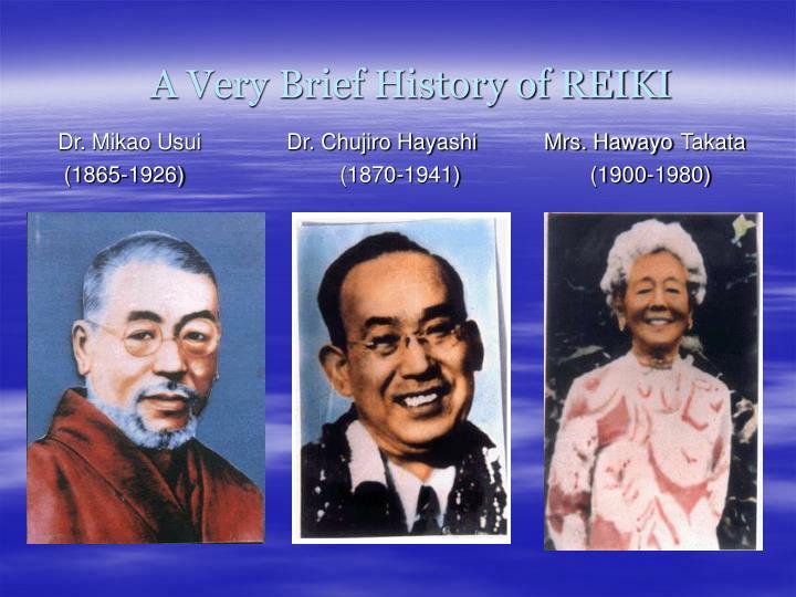 A Very Brief History of REIKI