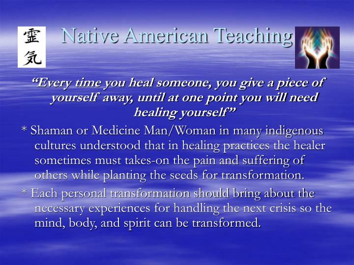 Native American Teaching