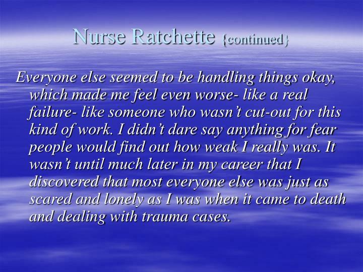 Nurse Ratchette