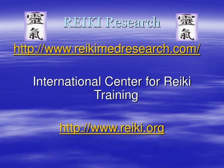 REIKI Research