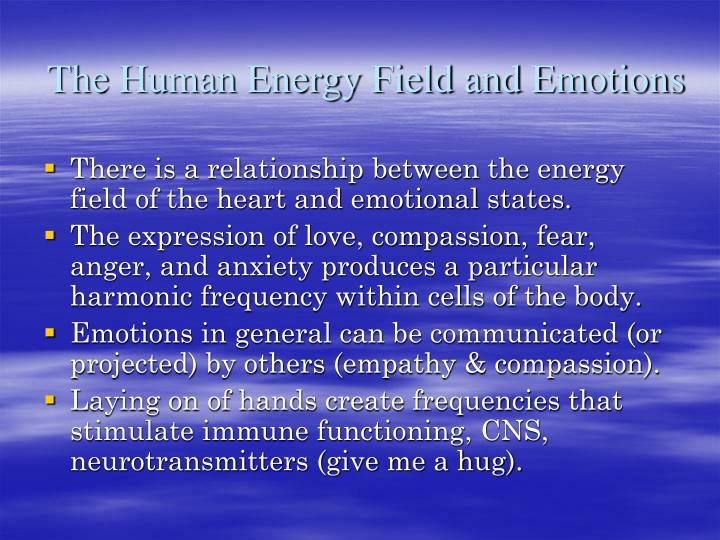 The Human Energy Field and Emotions
