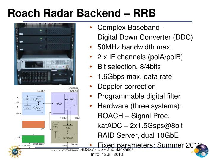 Roach Radar Backend – RRB
