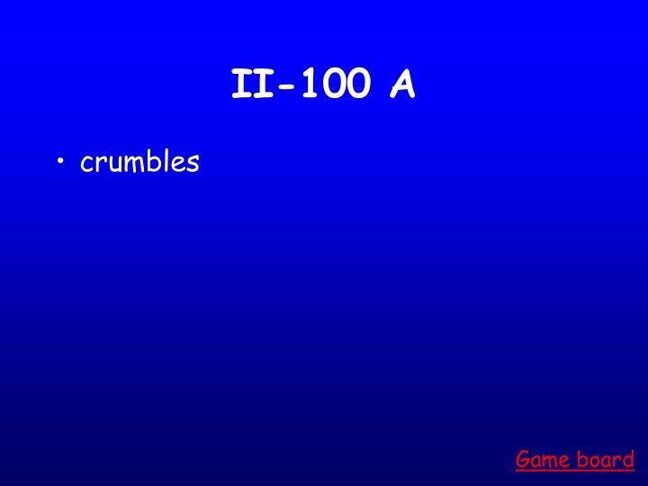 II-100 A