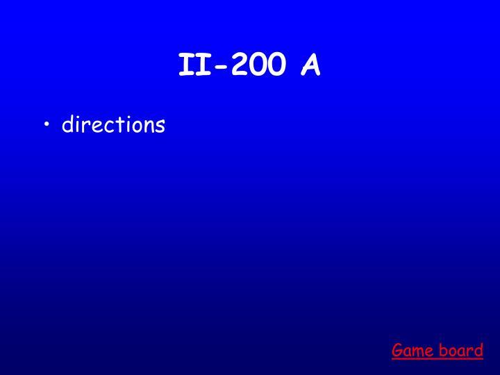 II-200 A