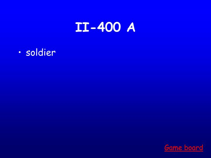 II-400 A