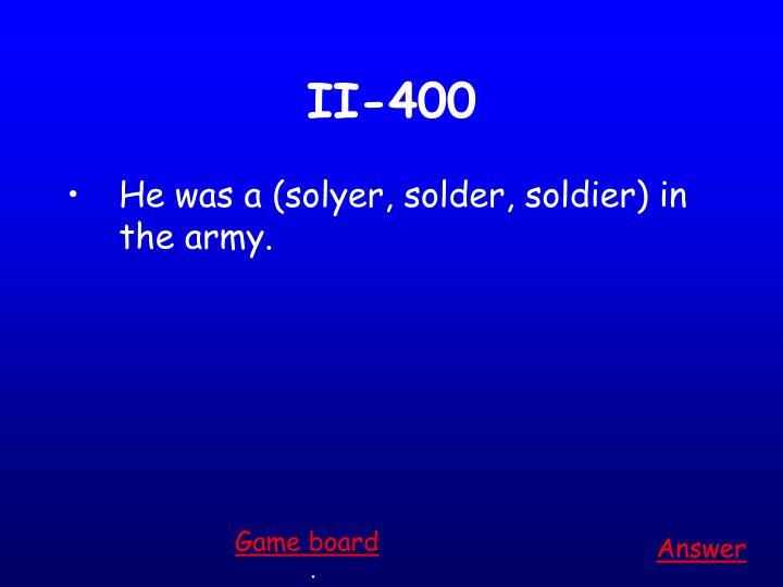 II-400