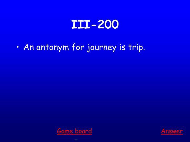 III-200