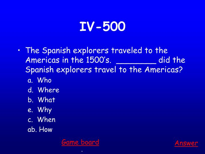 IV-500