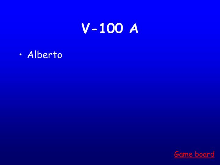 V-100 A
