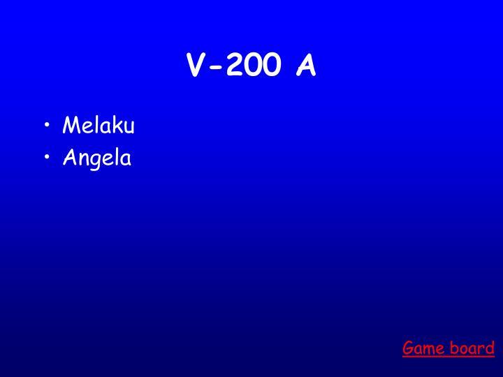 V-200 A