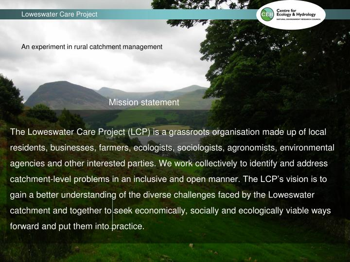 Loweswater Care Project