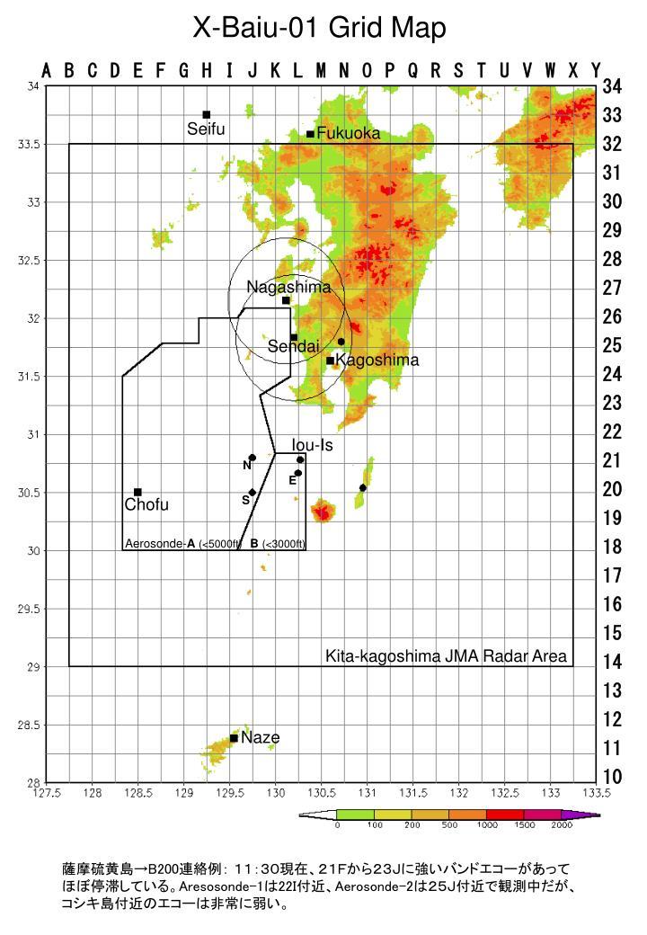 X-Baiu-01 Grid Map