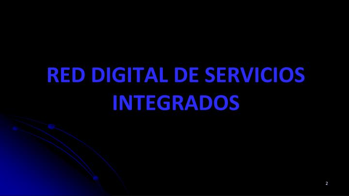 Red digital de servicios integrados