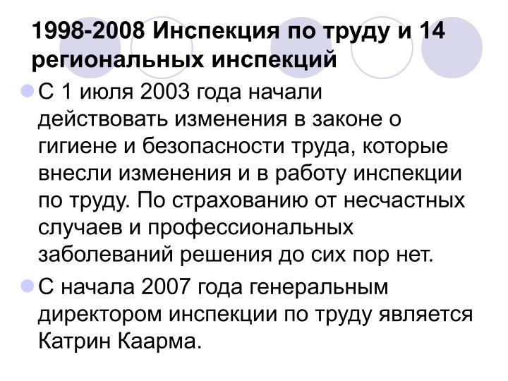 1998-2008     14