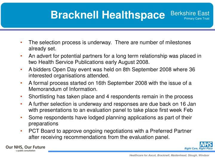 Bracknell Healthspace