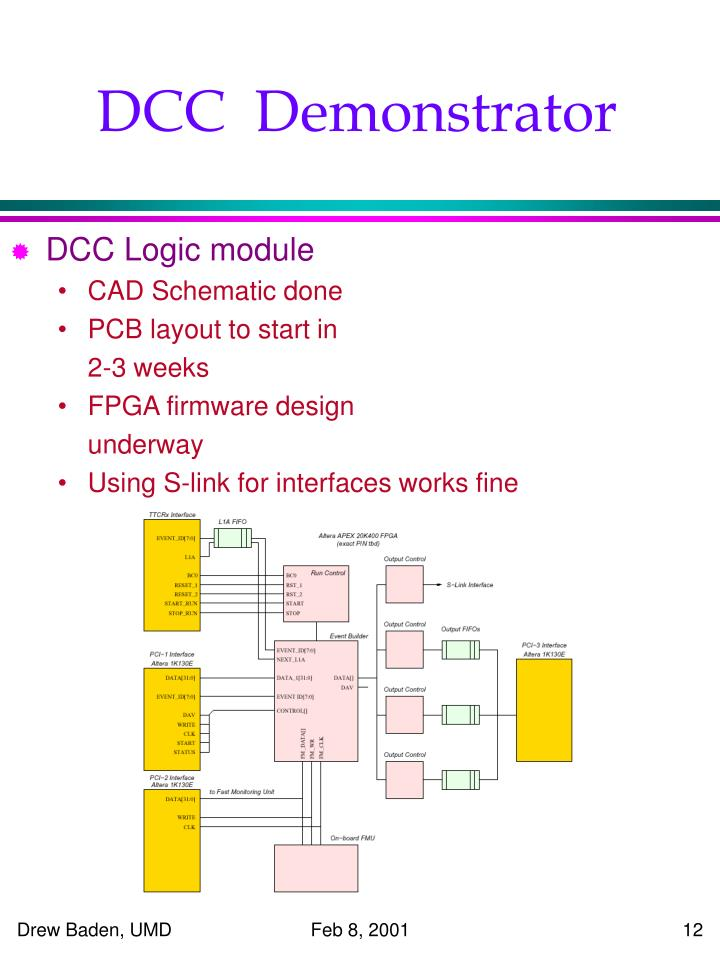 DCC  Demonstrator