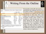 writing from the outline1