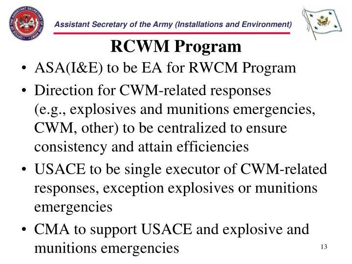 RCWM Program