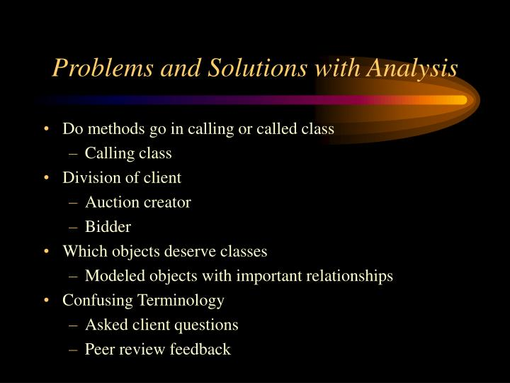 Problems and Solutions with Analysis