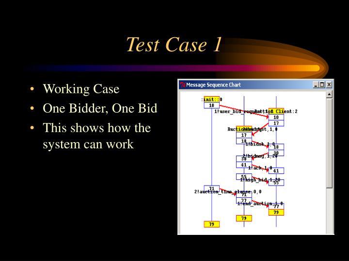 Test Case 1