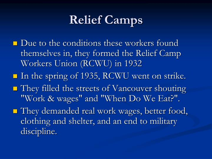 Relief Camps