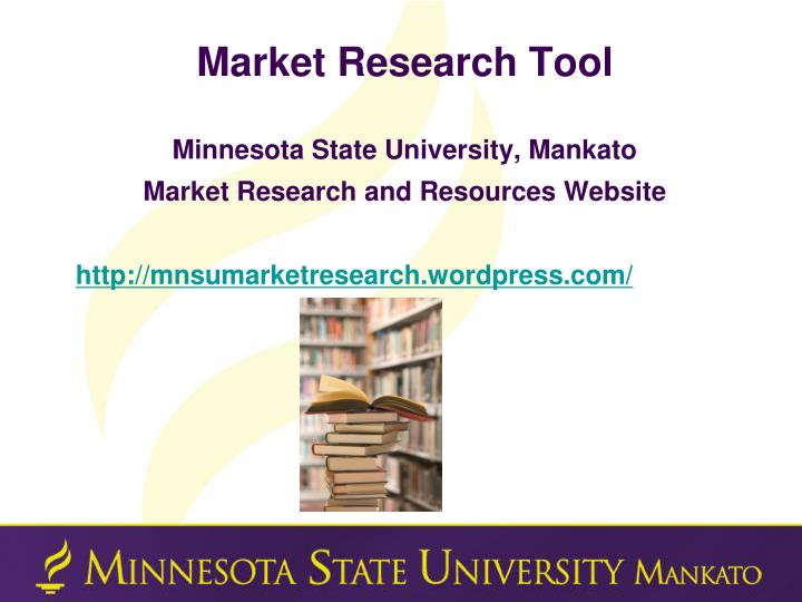 Market Research Tool