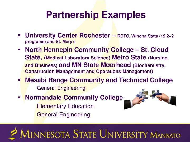 Partnership Examples