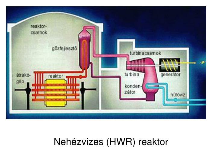Nehézvizes (HWR) reaktor