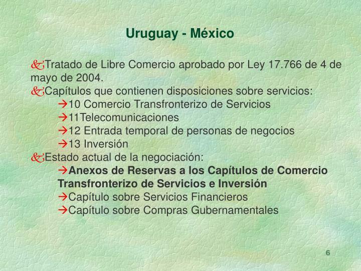 Uruguay - México