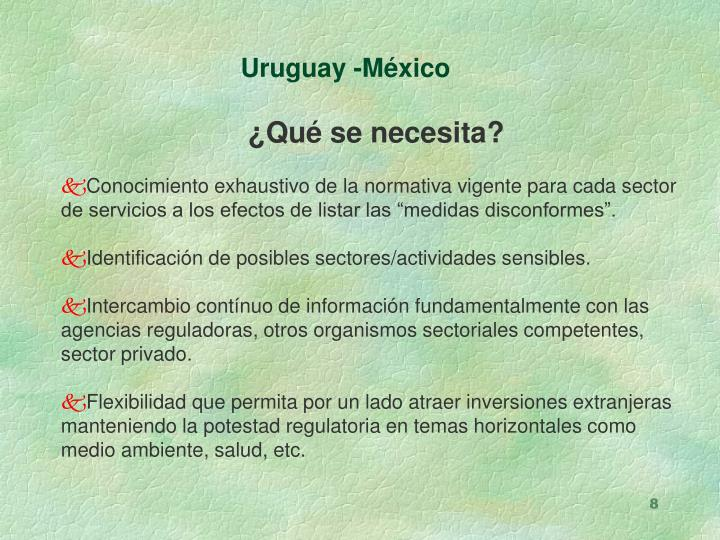 Uruguay -México