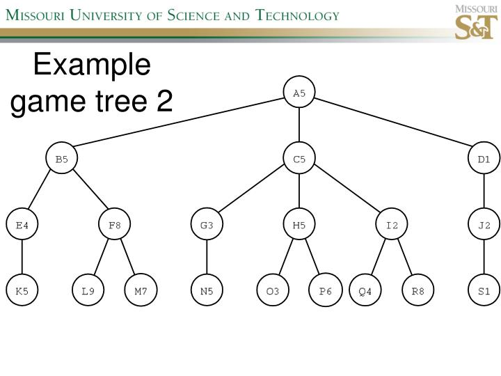 Example game tree 2