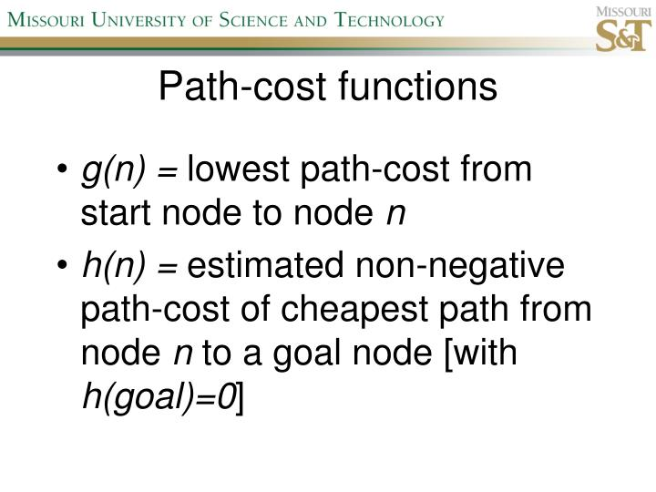Path-cost functions