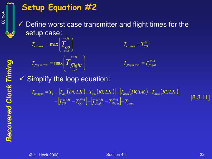 Setup Equation #2