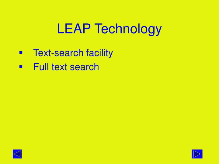 LEAP Technology