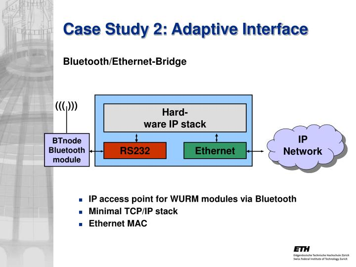 Case Study 2: Adaptive Interface