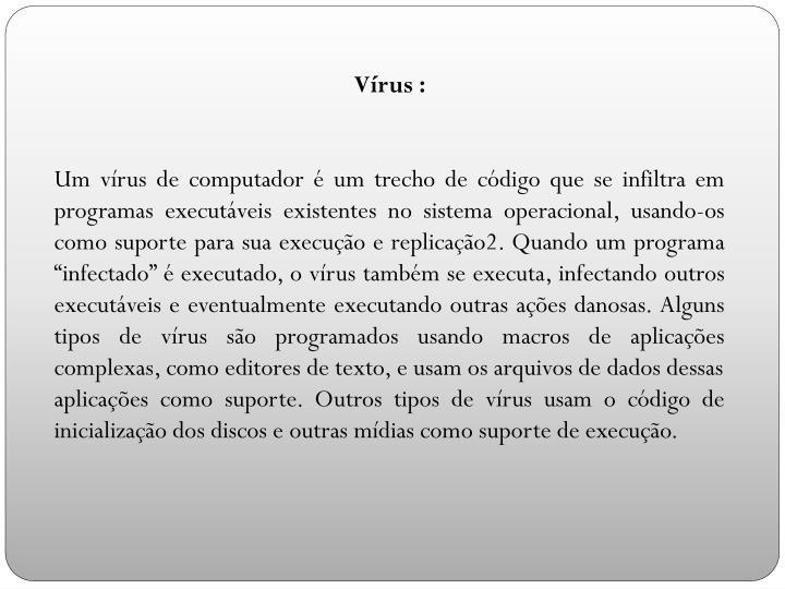 Vírus :