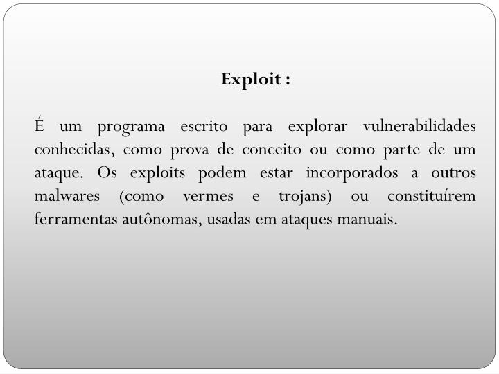 Exploit :