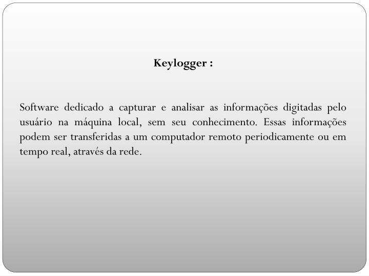Keylogger :
