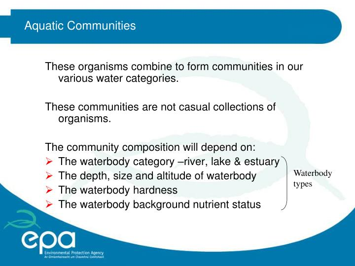 Aquatic Communities